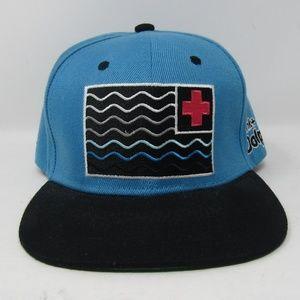 Pink Dolphin Hat SnapBack Blue Black Pink
